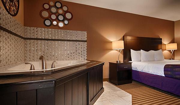 Hotel Jacuzzi Orleans Enredada